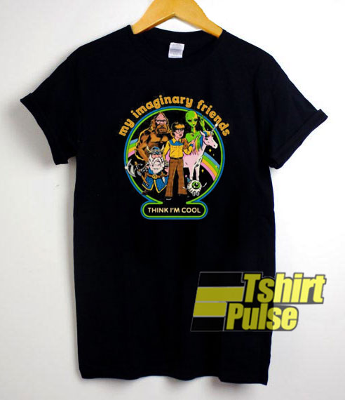Funny My Imaginary Friends t-shirt for men and women tshirt