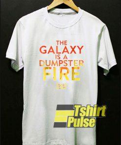 Galaxy's Edge Dumpster Fire t-shirt for men and women tshirt