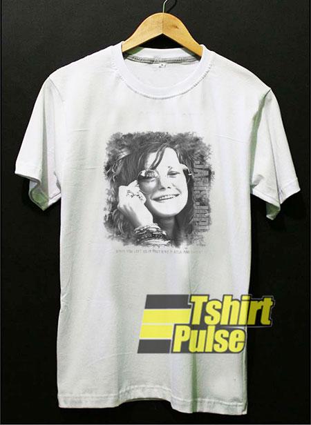 Janis Joplin Vintage Art t-shirt for men and women tshirt