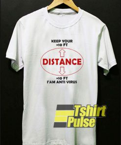 Keep Your Social Distancing t-shirt for men and women tshirt