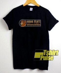 Mama Bear Graphic Box t-shirt for men and women tshirt