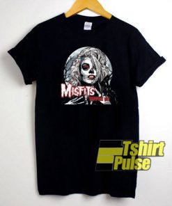 Misfits Vampire Girl t-shirt for men and women tshirt