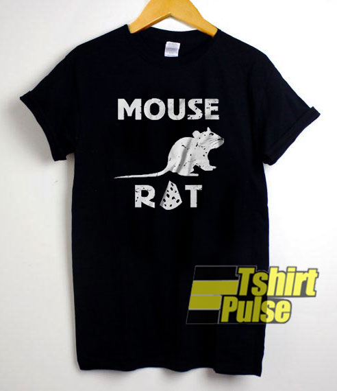 Mouse Rat Funny Cheese t-shirt for men and women tshirt