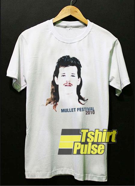 Mullet Festival 2010 t-shirt for men and women tshirt