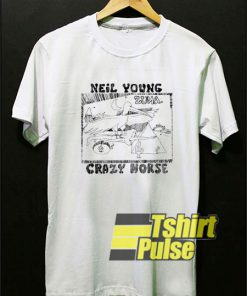 Neil Young & Crazy Horse t-shirt for men and women tshirt