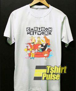 Nickelodeon Cartoon Network Characters t-shirt for men and women tshirt