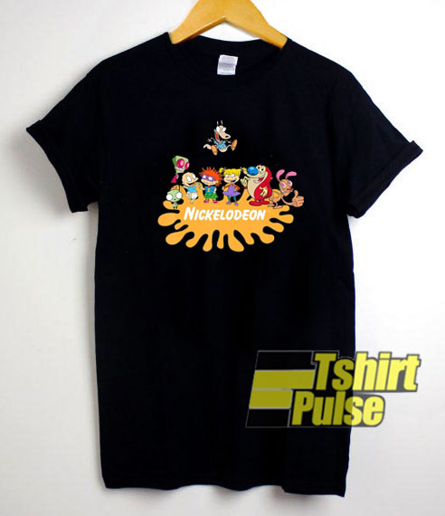 Nickrewind Rugrats Nick Squad t-shirt for men and women tshirt