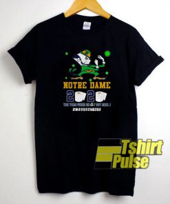 Notre Dame 2020 The Year t-shirt for men and women tshirt
