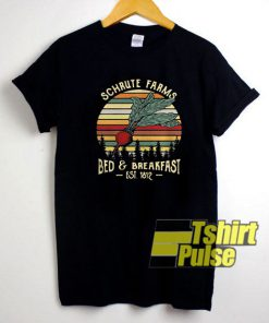 Official Schrute Farms Est 1812 t-shirt for men and women tshirt