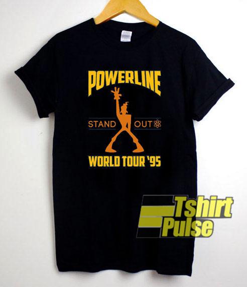 Powerline World Tour 95 t-shirt for men and women tshirt