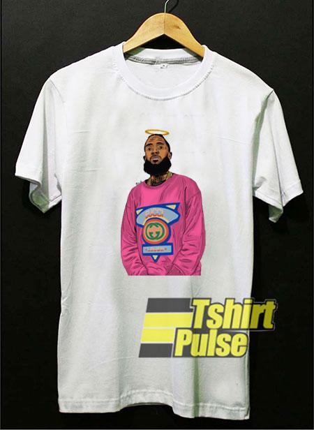 Rapper Nipsey Hussle RIP t-shirt for men and women tshirt