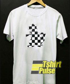 Reptar Rugrats Checkered t-shirt for men and women tshirt