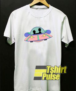 Rick And Morty Spaceship t-shirt for men and women tshirt