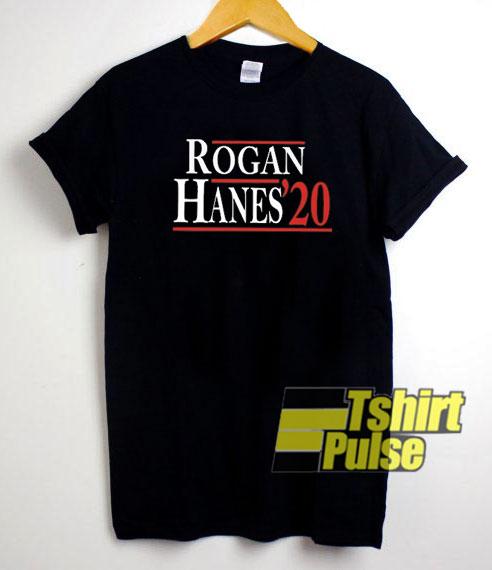 Rogan Hanes 2020 t-shirt for men and women tshirt