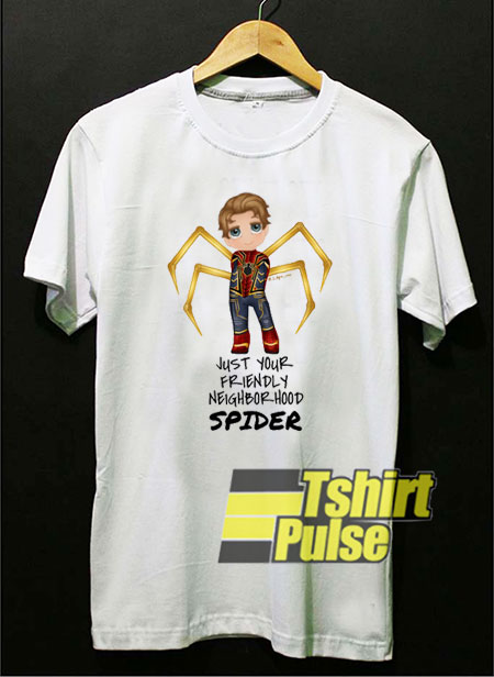 Spider-Man Tom Holland Chibi t-shirt for men and women tshirt