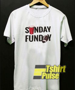 Sunday Funday Drink And Football t-shirt for men and women tshirt
