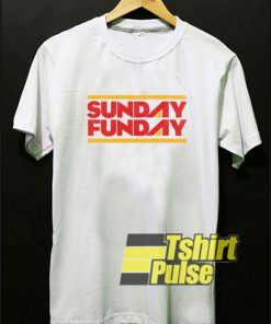 Sunday Funday Retro t-shirt for men and women tshirt