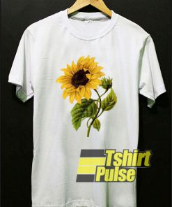 Sunflower Vintage Botanicals t-shirt for men and women tshirt