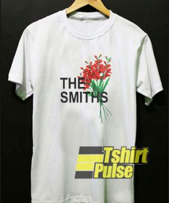 The Smiths Flowers t-shirt for men and women tshirt