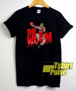 The Worm Dennis Rodman t-shirt for men and women tshirt