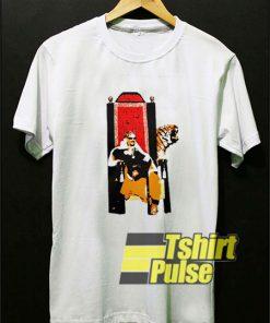 Tiger King Throne Netflix Series t-shirt for men and women tshirt