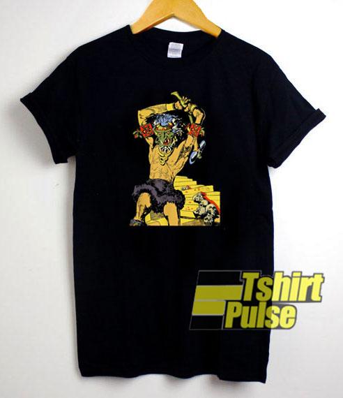 Tiki Bar Doorman t-shirt for men and women tshirt