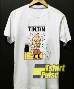 Tintin Adventures t-shirt for men and women tshirt