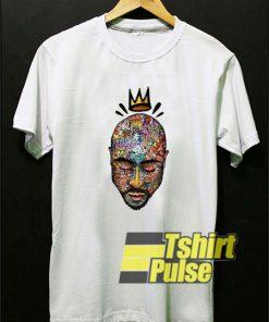 Tupac Art Crown t-shirt for men and women tshirt