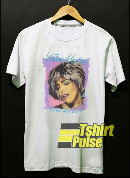 Vintage 1991 Whitney Houston t-shirt for men and women tshirt