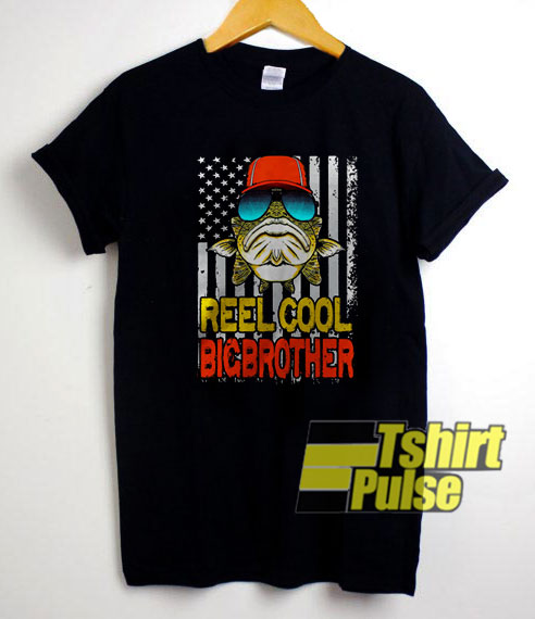 Vintage Reel Cool Bigbrother t-shirt for men and women tshirt