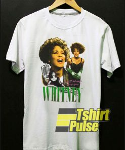 Vintage Whitney Houston Graphic t-shirt for men and women tshirt