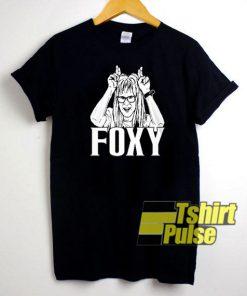 Wayne's World Garth Foxy Lady t-shirt for men and women tshirt