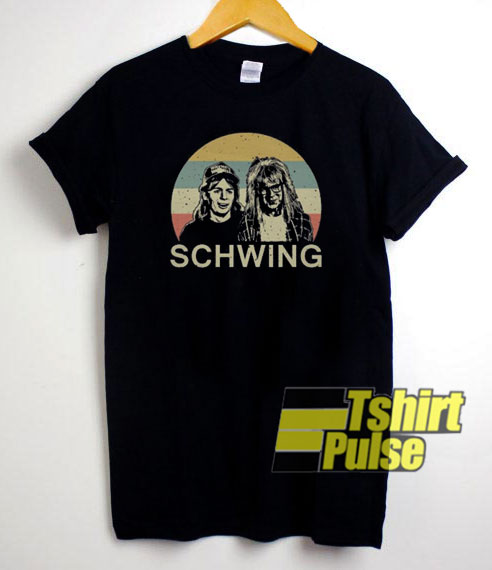 Wayne's World Schwing Vintage t-shirt for men and women tshirt