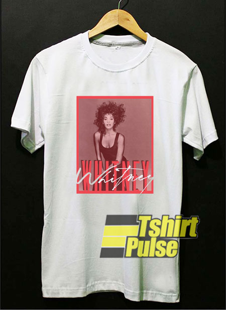 Whitney Houston Graphic Photo t-shirt for men and women tshirt