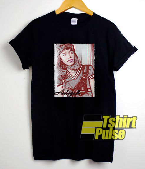 Aaliyah Notebook Paper Aesthetic t-shirt for men and women tshirt