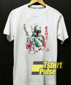 Vintage Star Wars Boba Fett t-shirt for men and women tshirt