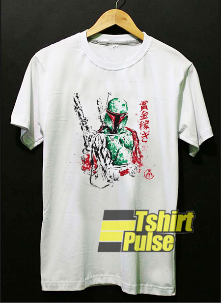 Vintage Star Wars Boba Fett t shirt for men and women tshirt
