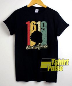 1619 Out Roots Vintage t-shirt for men and women tshirt