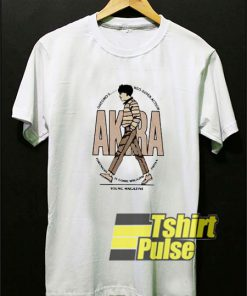 Akira Anime Young Magazine t-shirt for men and women tshirt