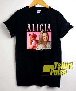 Alicia Silverstone Rapper t-shirt for men and women tshirt