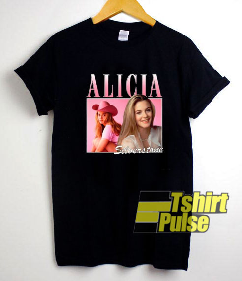 Alicia Silverstone Rapper t shirt for men and women tshirt