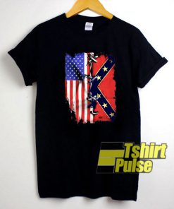American Confederate Flag t-shirt for men and women tshirt