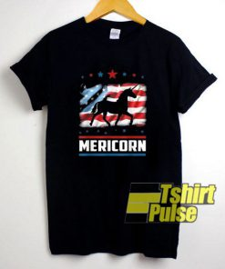 American Flag Unicorn t-shirt for men and women tshirt