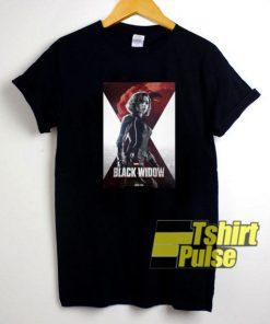 Avenger Endgame Black Widow t-shirt for men and women tshirt