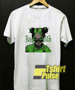 Billie Eilish Cartoon Hip Hop t-shirt for men and women tshirt