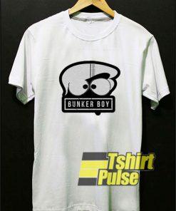 Bunker Boy Art t-shirt for men and women tshirt