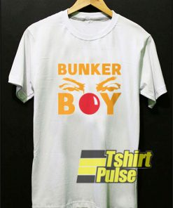 Bunker Boy Clown Nose t-shirt for men and women tshirt