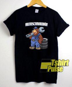 Car Screwdriver Mechanic Bear t-shirt for men and women tshirt