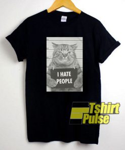 Cat Photos I Hate People t-shirt for men and women tshirt