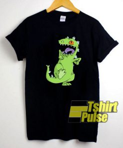 Dancing Reptar Rugrats t-shirt for men and women tshirt